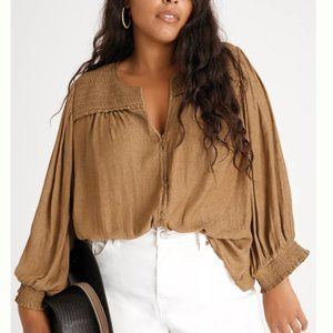 Anthropolodie -Cacee Button down blouse